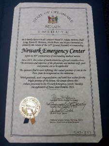 emergency medical care in Newark