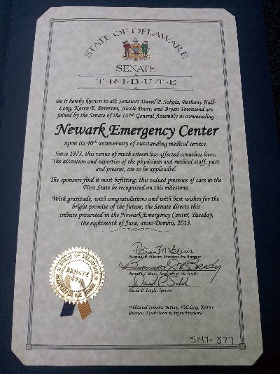 emergency medical care in Newark